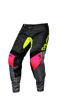 SEVEN Annex Ignite Black/Flo Yellow Pant