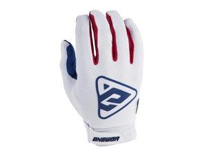 ANSWER Ar3 Handske Vit/Röd