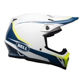 BELL MX-9 Mips White/Blue/Yellow