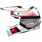 BELL MX-9 Mips White/Black/Red