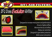 DT-1 Evolution KXF 250 06->, KXF 450 06-15