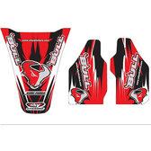 Bull 06 Sponsor CR 125/250, 02-07 CRF 450 02-04