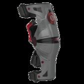 Mobius X8 Storm knäskydd grå/crimson