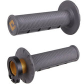ODI Half Waffle MX Lock-On Grip Set 2 & 4 Stroke gr