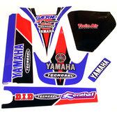 Sponsorset YZ 426, 2000 Röd-Blå